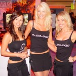 CES 2012 Booth Babes @ Playlogic