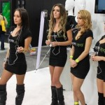 CES 2012 Booth-Babes @ Skunk Juice