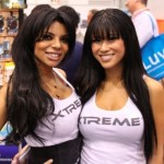 CES 2012 booth babes @ Xtreme
